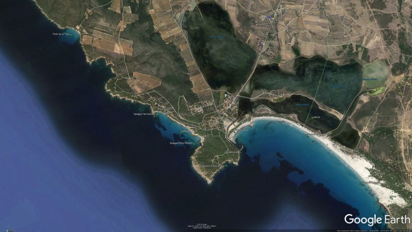 Porto Pino Maps Geo